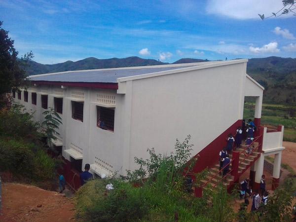 2018 – Construction de nouvelles classes à Ambatofotsy