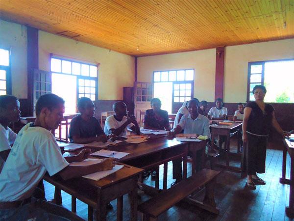 2018 – À l'initiative du Rotary Club : amélioration du niveau de français à Ambatofotsy